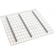 """Global Industrial™ Wire Mesh Decking, 46""""W x 42""""D x 1-1/2""""H, 3000 Lb. Capacity"""