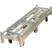 Wesco® Folding Aluminum Narrow Aisle Platform Truck 273296 1750 Lb. Cap.