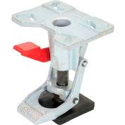 "Vestil Adjustable Height Steel Floor Lock FL-ADJ-810 for 6"" & 8"" Casters"