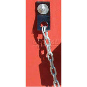 Optional 10' Security Chain RMCU10 for Durable Wheel Chock Hanger