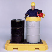 UltraTech Ultra-Spill Pallet Plus® Containment Pallet 9611 P2 2-Drum with Drain