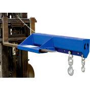 "Shorty Forklift Jib Boom Crane LMS-EBNT-40-8 8000 Lb. 24"" Centres"
