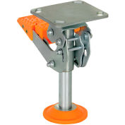 """Floor Lock with Polyurethane Foot Pad FL-LKH-8 for 8"""" Casters"""
