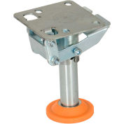 """Floor Lock with Polyurethane Foot Pad FL-LKL-5 for 5"""" Casters"""