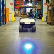 Global Industrial™ Blue LED Personnel Vehicle Pedestrian Safety Warning Spotlight