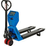 Global Industrial™ Low Profile Pallet Jack Scale Truck 5000 Lb. Capacity 22 x 48 Forks