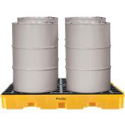Global Industrial™ 4 Drum Spill Containment Modular Platform