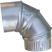 Elbow Round Duct Fitting 10 90 Deg 26 ga. Pack of5