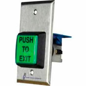 Illuminated Request To Exit Button With Built-In Timer