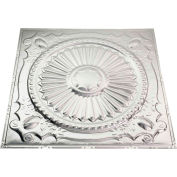 Great Lakes Tin Toronto 2' X 2' Nail-up Tin Ceiling Tile in Unfinished - T59-03