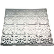 Great Lakes Tin Hamilton 2' X 2' Lay-In Tin Ceiling Tile in Unfinished - Y52-03