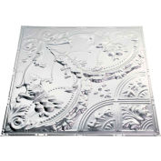 Great Lakes Tin Saginaw 2' X 2' Lay-in Tin Ceiling Tile in Unfinished - Y53-03