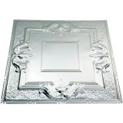 Great Lakes Tin Niagara 2' X 2' Lay-in Tin Ceiling Tile in Unfinished - Y54-03