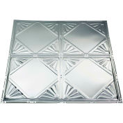 Great Lakes Tin Erie 2' X 2' Lay-in Tin Ceiling Tile in Unfinished - Y56-03