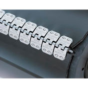 """12"""" Ready Set Staple Belt Lacing, Stainless  (Rs125sj12) - 4 Pack"""