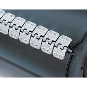 "12"" Ready Set Staple Belt Lacing, Galvanized  (Rs187j12) - 4 Pack"