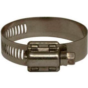 "Apache 48017001 5/16"" - 7/8"" 300 Stainless Steel Micro Worm Gear Clamp w/ 5/16"" Wide Band"