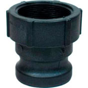 """2"""" A Polypropylene Cam and Groove Adapter x Female NPT"""