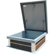 Galvanized Roof Hatch - 30 x 36