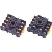 Advance Controls 115903, Socket For Relay, Non Latching, Type 2PDT, Use For 97 Series, 8 PIN Octal