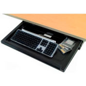 Retractable Keyboard Tray with Mouse Platform