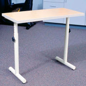 """Knob Adjusted Hand Therapy Table - 33""""L x 16""""W Maple"""