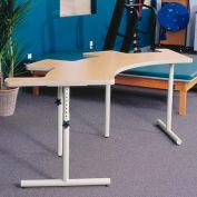 """Knob Adjusted Comfort Curve Therashape Table - 85""""L x 38""""W Maple"""