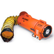 "Allegro COM-PAX-IAL Blower With 15' Duct & Canister 9533-15, 8"" Dia., 1/3HP, 831 CFM"