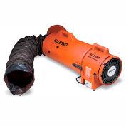 """Allegro COM-PAX-IAL Explosion Proof ventilateur avec 25' conduit & cartouche 9538-25, 8"""" dia., 1/3HP, 900 pi3/min"""