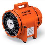 """Allegro Explosion Proof COM-PAX-IAL souffleur sans cartouche 9538, 8"""" diamètre, 1/3HP, 115V, 900 pi3/min"""