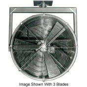 "Americraft 18"" EXP Alum Propeller Fan W/ 2 Way Swivel Yoke 18DA-12Y-3-EXP-1 HP 4600 CFM"