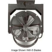 "Americraft 30"" EXP Alum Propeller Fan W/ 1 Way Swivel Yoke 30DA-1/21Y-3-EXP-1/2 HP 8900 CFM"
