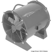 "Americraft 42"" Steel Propeller Fan With Low Stand 42DSL-7-1/2L-3-TEFC 7-1/2 HP 28600 CFM"