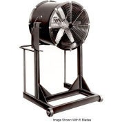 """Americraft 60"""" Steel Propeller Fan With High Stand 60DSLL-5H-3-TEFC 5 HP 43000 CFM"""