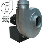 Global Industrial™ Explosion Proof Blower 1-1/2 HP, Single Phase, CCW, Upblast, 840 CFM