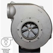 Americraft Aluminum Blower, HADP12-11/2-T-TE-CWTH, 1-1/2 HP, 3 PH, TEFC, CW, Top Horizontal