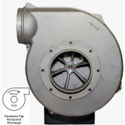 Americraft Aluminum Blower, HADP8-1/2-T-TE-CWTH, 1/2 HP, 3 PH, TEFC, CW, Top Horizontal
