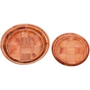 "Alegacy 4906 - Wood Weave Plate, 6"" - Pkg Qty 12"