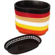 Alegacy 499FT - Flexible Oval Fast Food Basket, Tan, 1 Dozen