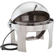 Alegacy AL530AE - Half, Size Dome Cover Savoir™ Chafer With Brass Legs/Electric