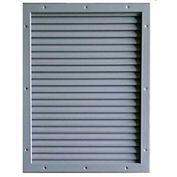 "CECO Door Louver Kit, Galvannealed Steel, 12""W X 12""H"