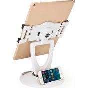 Aidata US-5025W Universal Tablet ViewStation, Blanc
