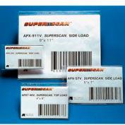 "Label Holders, 4"" x 6"", Clear, Full Self Adhering (50 pcs/pkg)"