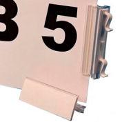 """Slip N Stik, Warehouse Aisle Sign Kit 8-1/2"""" x 11"""", Snap-On, Blue (10 pcs/pkg)"""