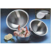 American Metalcraft AB12 - Bowl, 108 Oz., Angled, Two Bottom Indentions, Double Wall