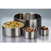 American Metalcraft DWB14 - Bowl, 14 x 5, Straight Sided, Double Wall