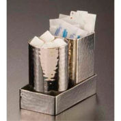 American Metalcraft HMSPT3 - Sugar Packet Holder, 4-1/4 x 2-1/4 x 1, Hammered Finish