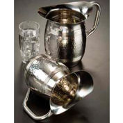 "American Metalcraft HMWP97 - Bell Water Pitcher, 100 Oz., 8""H, Hammered Finish"