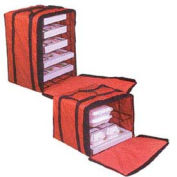 """American Metalcraft PB1926 - Deluxe Pizza Delivery Bag W/Rack, 19"""" x 19"""" x 27"""""""