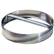 "American Metalcraft RDC15 - Dough Cutting Ring, 15"" ID x 3"" High"